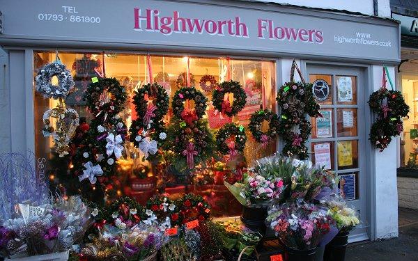 Highworth Flowers for Christmas