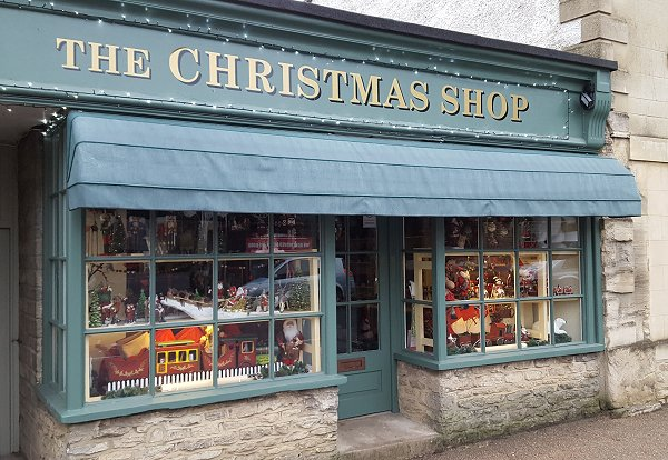 the christmas shop lechlade need we say more and right on our doorstep - The Christmas Shop