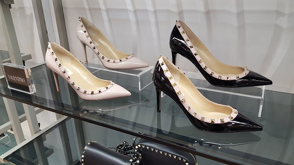 Valentino heels, Flannels, Swindon